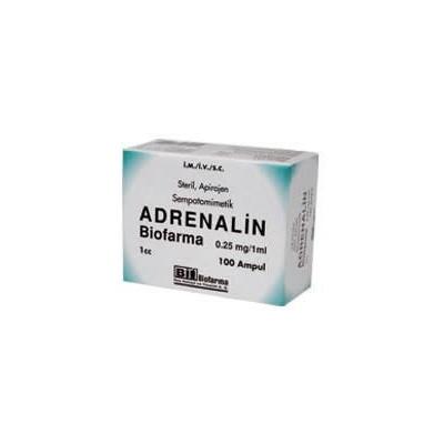 ADRENALIN 0,25 MG 10 AMPUL