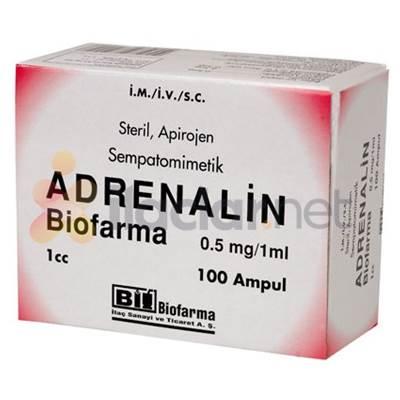 ADRENALIN 0,5 MG 10 AMPUL