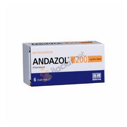 ANDAZOL 200 mg 2 film tablet