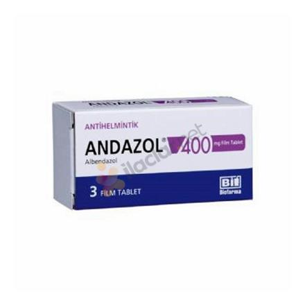 ANDAZOL 400 mg 3 film tablet