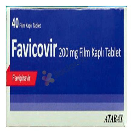 FAVİCOVİR 200 mg 40 tablet