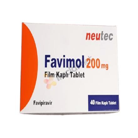 FAVİMOL 200 mg 40 tablet