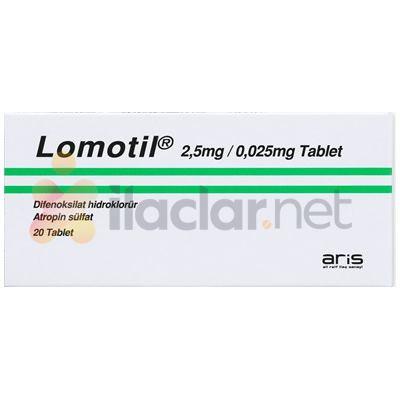 LOMOTIL 20 tablet