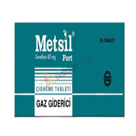 METSIL FORT 80 mg 50 tablet