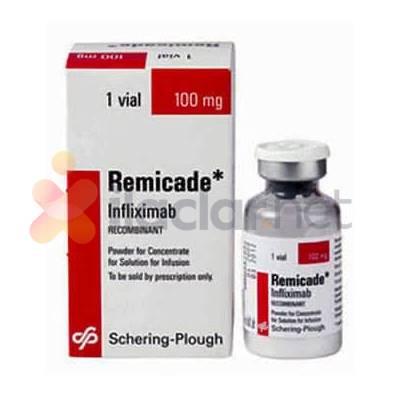 REMICADE 100 mg konsantre IV infüzyon çözeltisi flakon