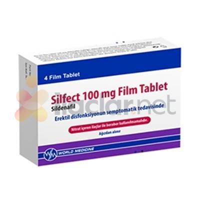 SILFECT 100 MG 4 FILM TABLET