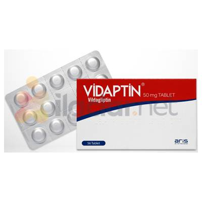 VIDAPTIN MET 50 MG/850 MG FILM KAPLI TABLET (60 TABLET)