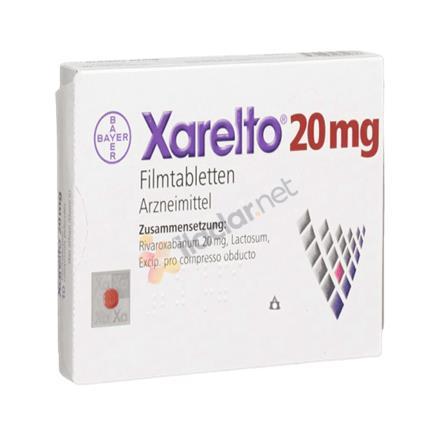 XARELTO 20 mg 28 film kaplı tablet