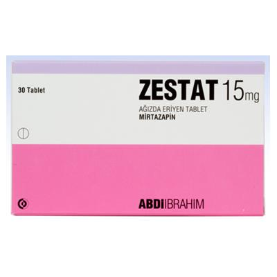 ZESTAT 45 mg 30 ağızda eriyen tablet