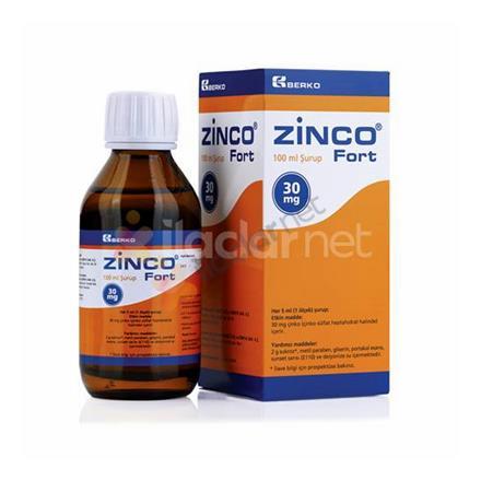 ZINCO 30 mg FORT şurup