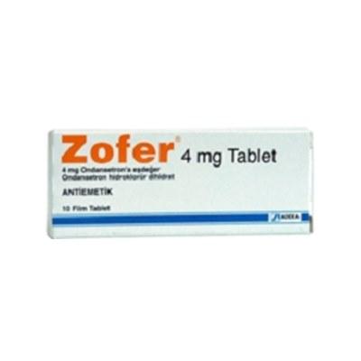 ZOFER 4 mg 10 tablet