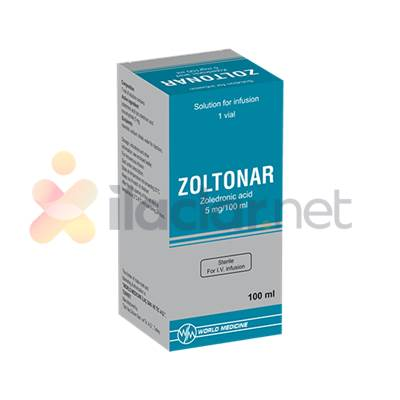 ZOLTONAR 5 MG/100 ML IV INFUZYON ICIN COZELTI ICEREN 1 FLAKON