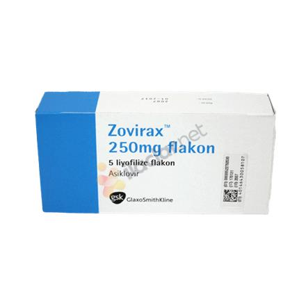 ZOVIRAX 250 mg 5 flakon